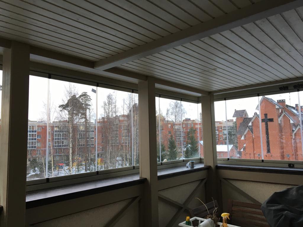 раздвижная система для балкона