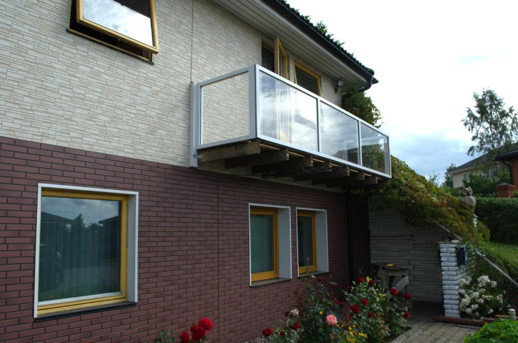 остекление ограждения балкона